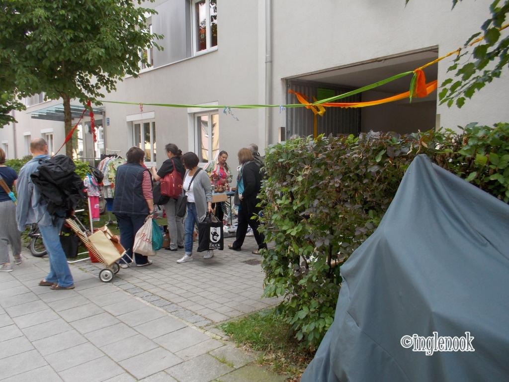 Hofflohmarkte ホフフローマルクト 中庭 蚤の市 フリーマーケット ミュンヘン