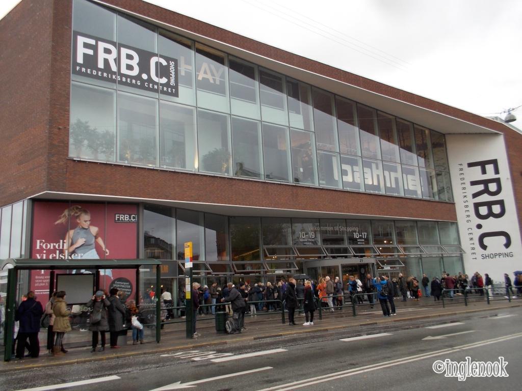 FRB.C Shopping ショッピングセンター コペンハーゲン