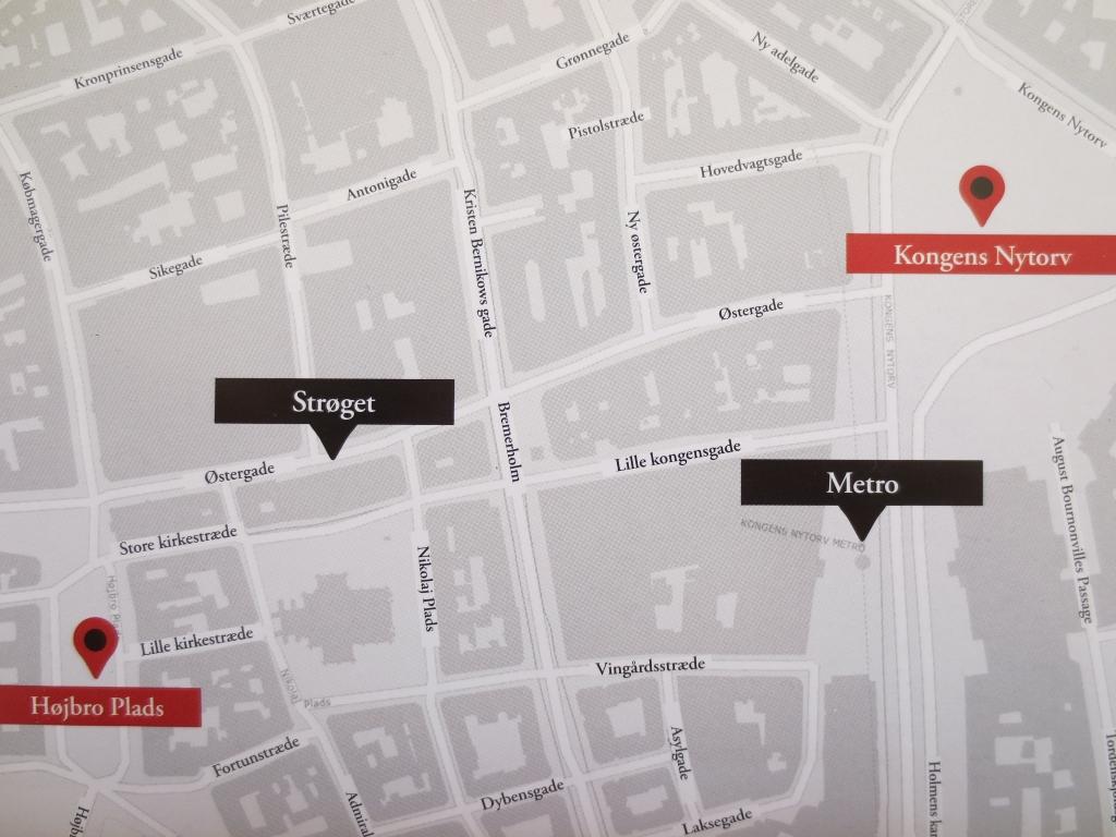 コペンハーゲン クリスマスマーケット コンゲンス・ニュートーゥ広場 Kongens Nytorv とホイブロ広場 Højbro Plads
