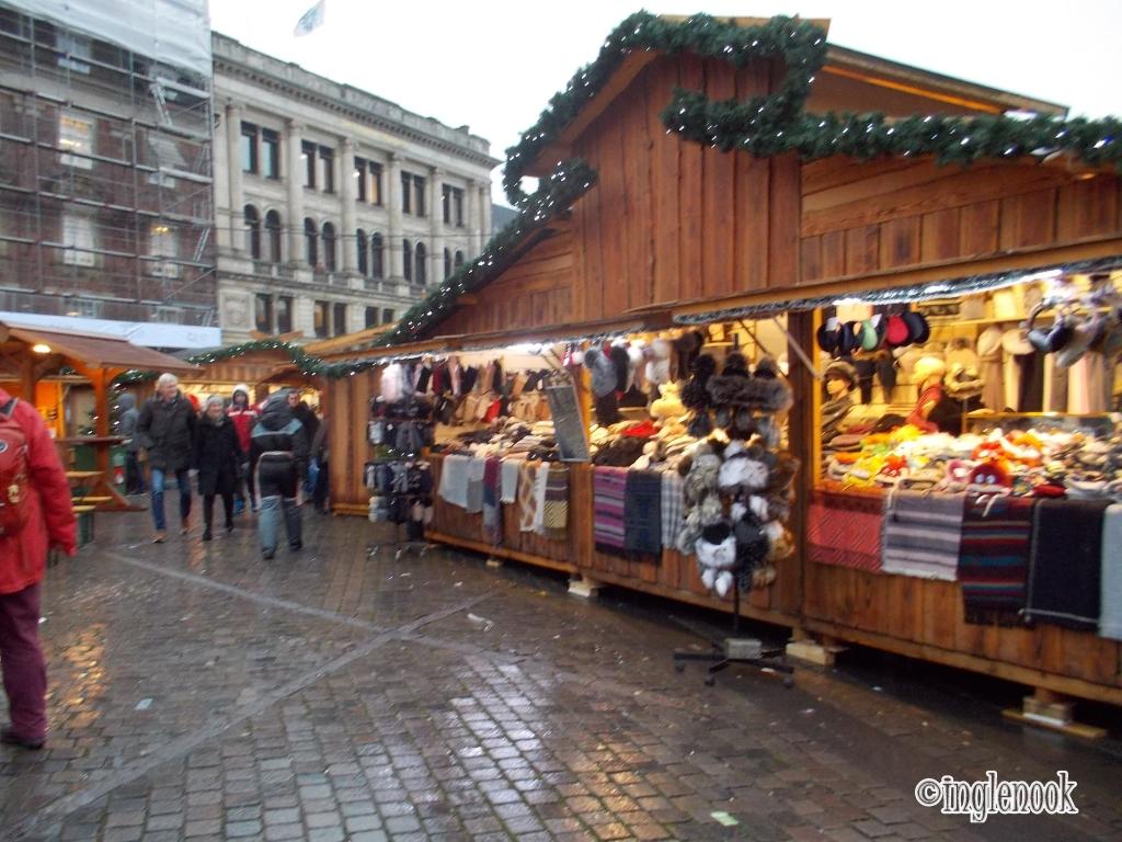 コペンハーゲン クリスマスマーケット コンゲンス・ニュートーゥ広場 Kongens Nytorv