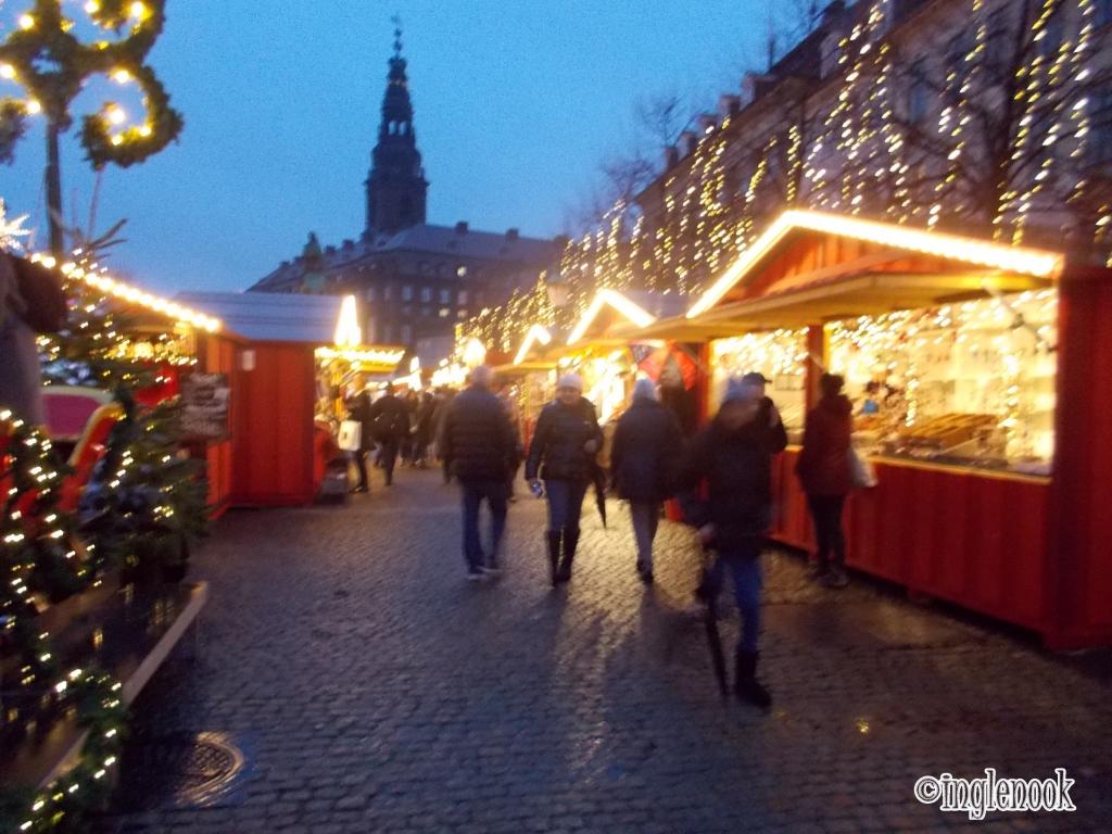 コペンハーゲン クリスマスマーケット ホイブロ広場 Højbro Plads