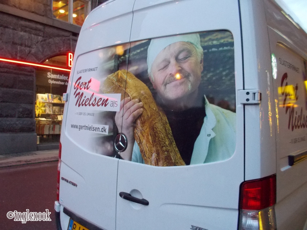 肉屋の車 配送車 デンマーク