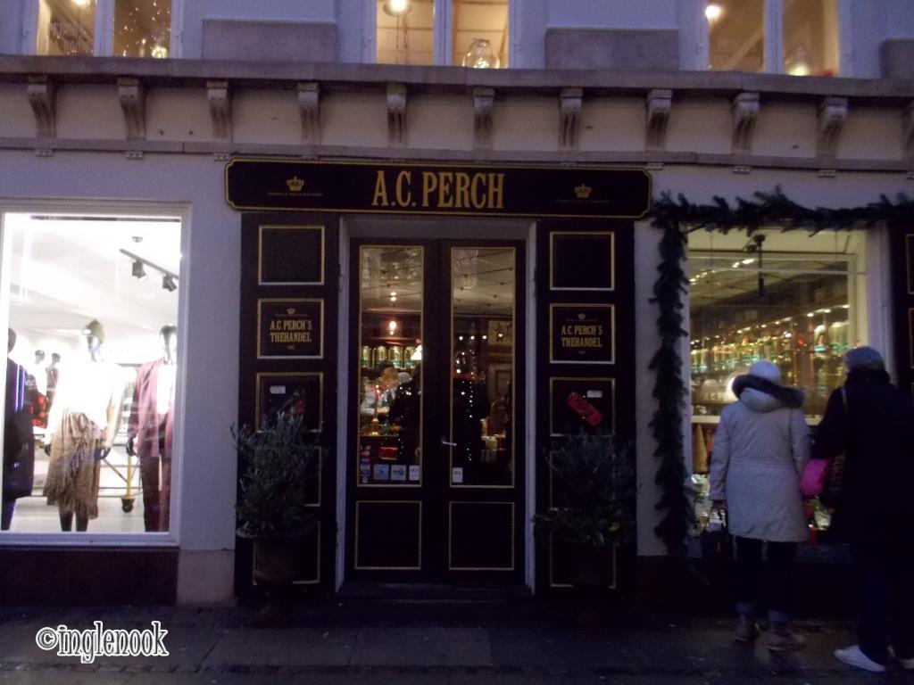 A.C. パークス・ティーハレン A.C. Perchs Thehandel デンマーク王室御用達 紅茶専門店