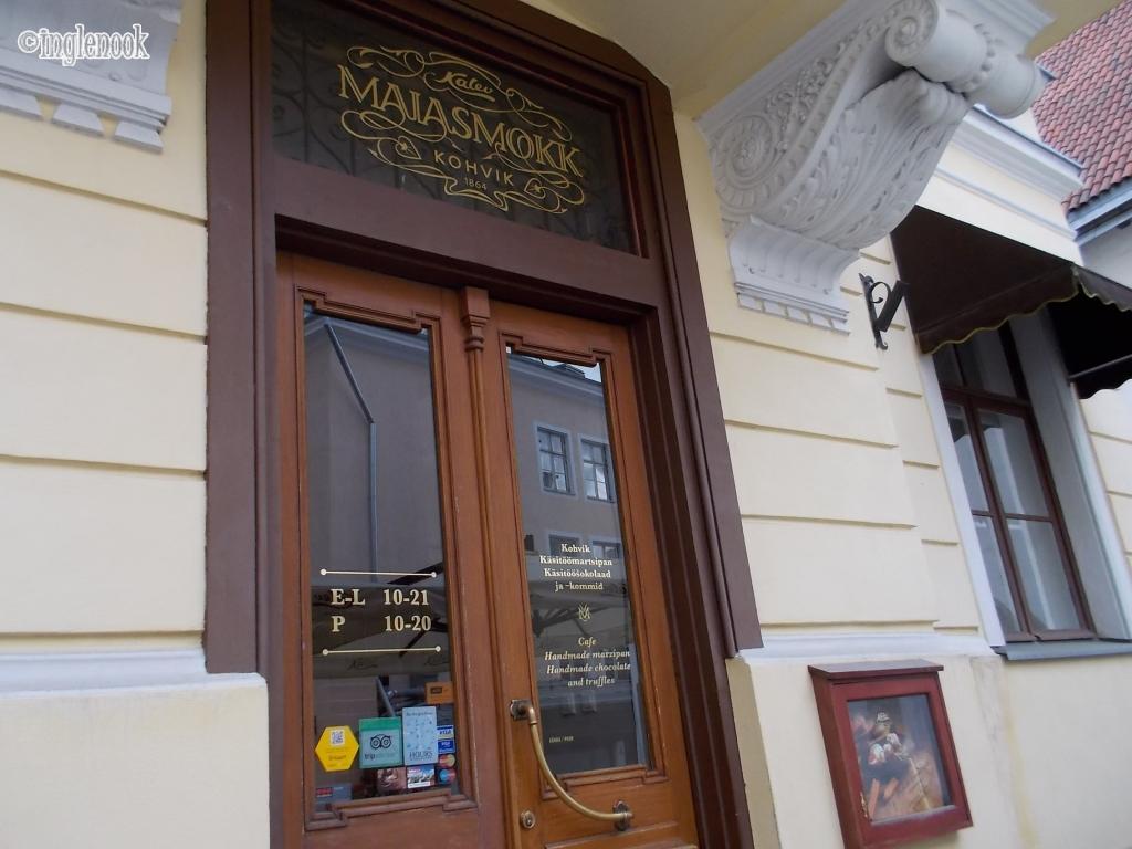 マイアスモック Kohvik Maiasmokk 一番古いカフェ