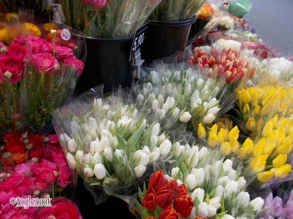 チューリップ パリ 花屋