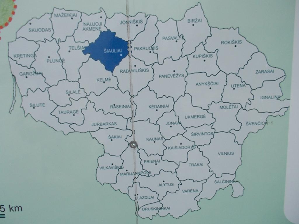 リトアニア 地図