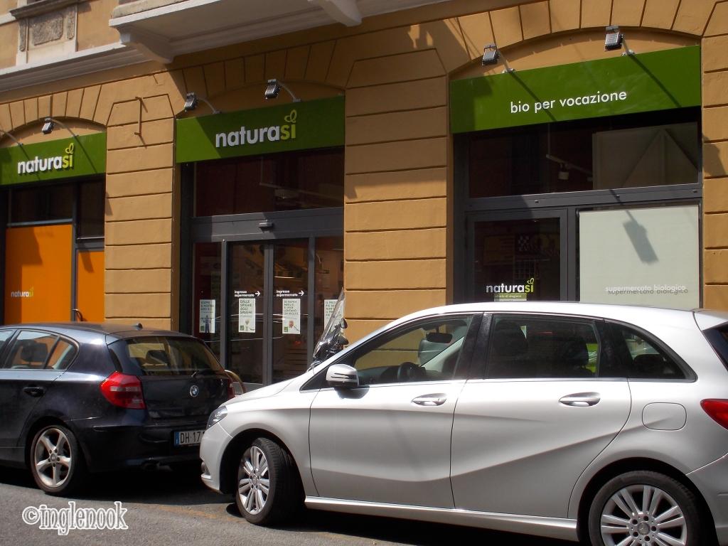 ナチュラシ NaturaSi  オーガニックスーパー イタリア ミラノ