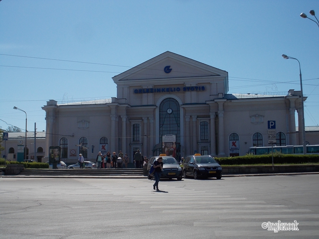 リトアニア ヴィリニュス中央駅 外観