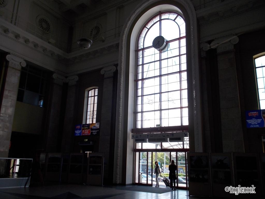 リトアニア ヴィリニュス中央駅 内部
