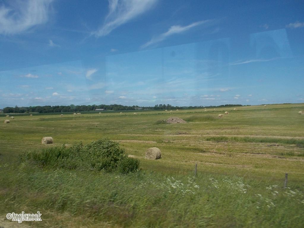 ヴィリニュスからクライペダへの車窓
