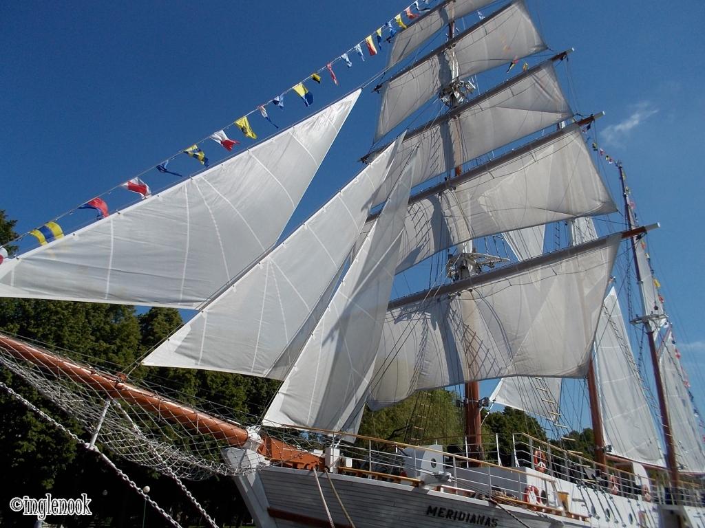 帆船 メリディアナス号 Meridianas