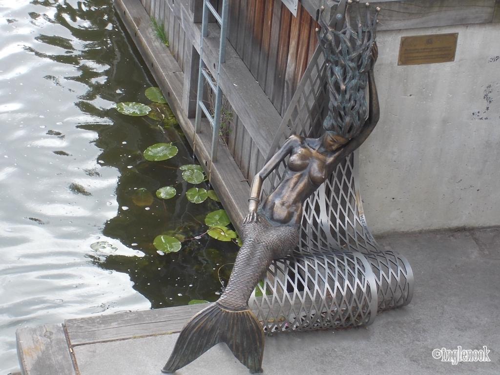 人魚の像 クライペダ リトアニア