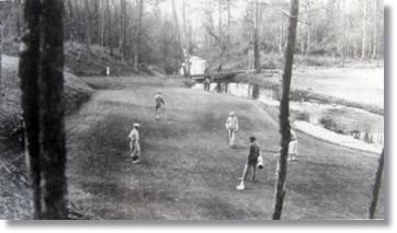 造成中のナショナル・オーガス タゴルフクラブ
