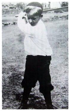 6歳のボビー・ジョーンズ