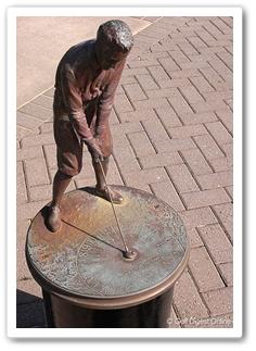 ボビー・ジョーンズの銅像