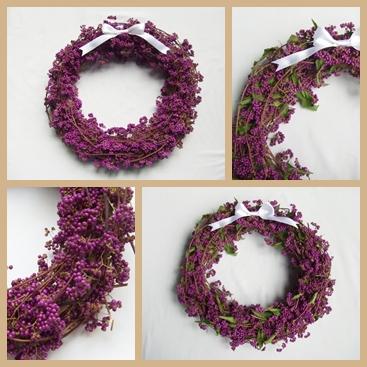 紫式部のリース