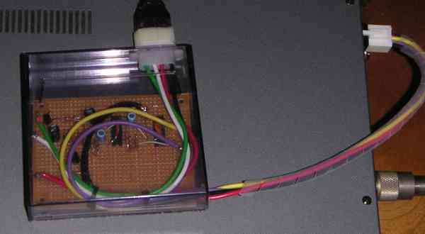 TS−2000用AH−3のコントローラ成功しました
