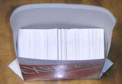 QSLカード梱包しました。(本年1回目)
