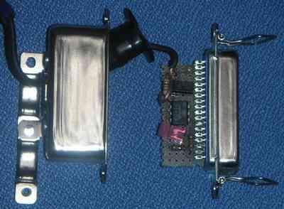 プリンタポートを利用した電信端末用インターフェイス