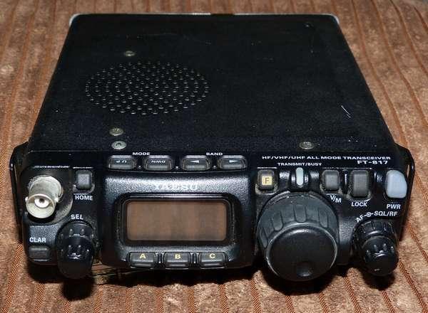FT-817修理前