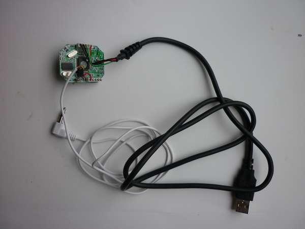 USB-RS232C-CW インターフェイス作成しました 結線完了
