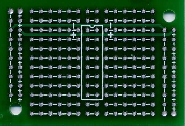 Fusion PCB から届いた基板を切り出しました
