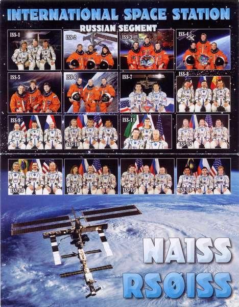 国際宇宙ステーションからQSLカードが届きました(RS0ISS)
