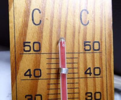 ノートパソコンの排気温度