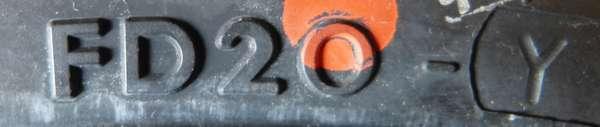 タイヤ製造工場記号