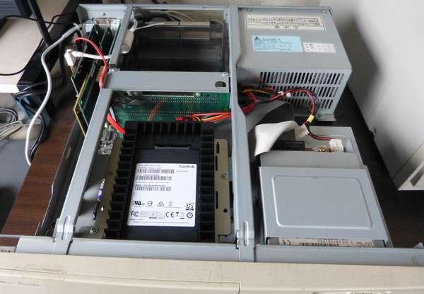 PC-9821 SSD化 計画完了