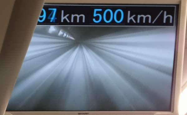 時速500km
