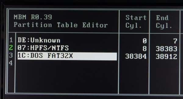 04 F8キーで変更を有効にしたら、エスケープキーで戻ります。