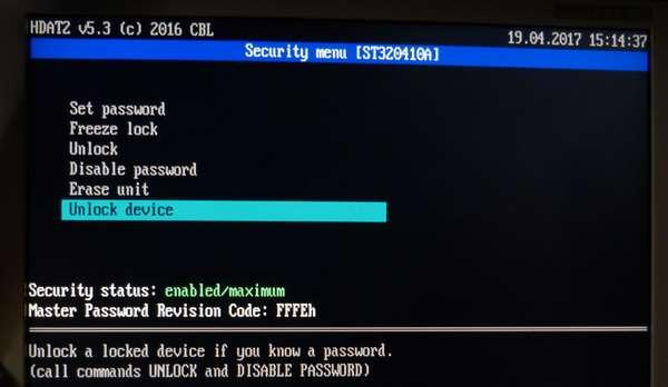 04 Unlock device