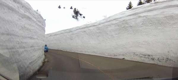蔵王エコーライン雪の回廊2
