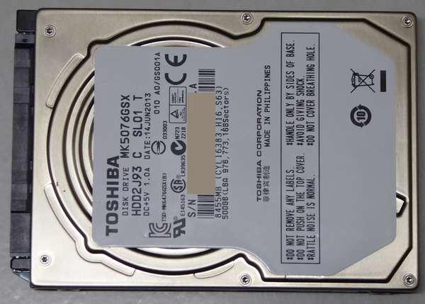 06 32GBに偽装したHDD