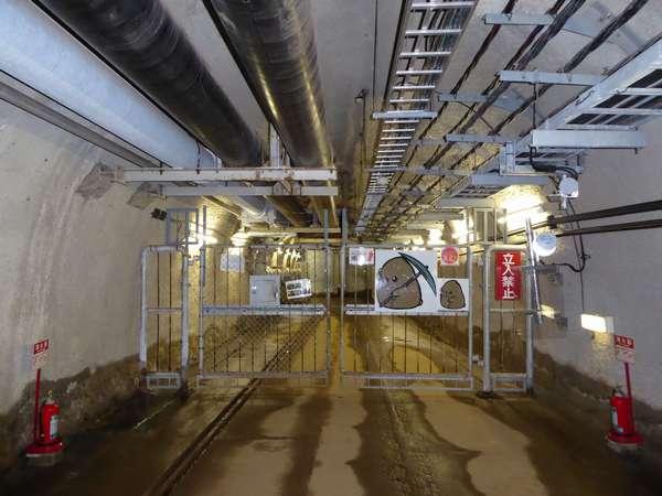 05 青函トンネル 旧竜飛海底駅からの避難通路