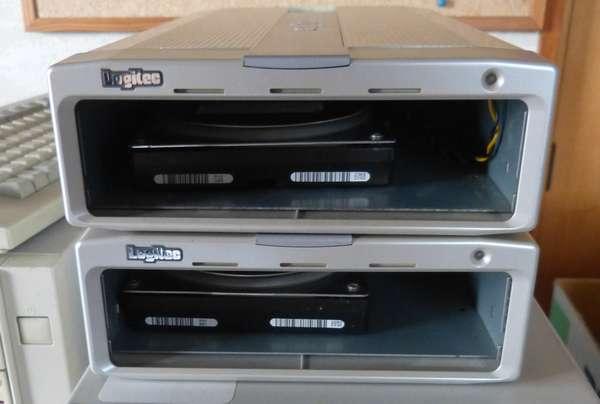 ロジテックLCW-S24SU2にハードディスクを入れてみたその2