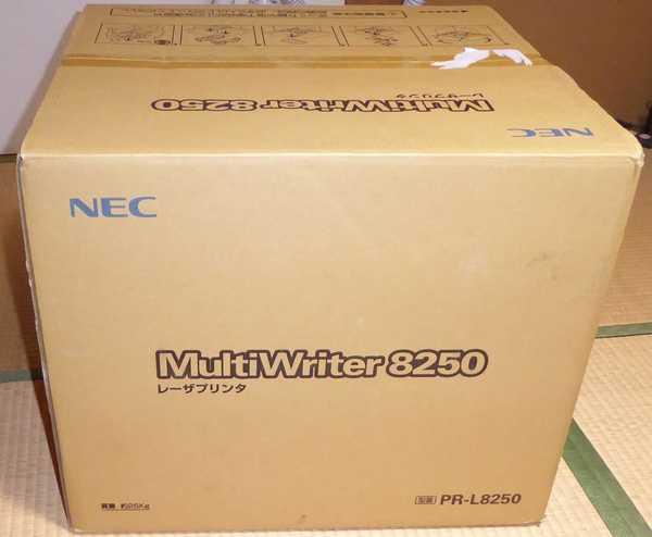 諦めて NEC Multiwrier L8250を購入しました