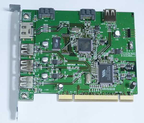IFC-PCI7ESAU2にアクセスランプを付けてみた