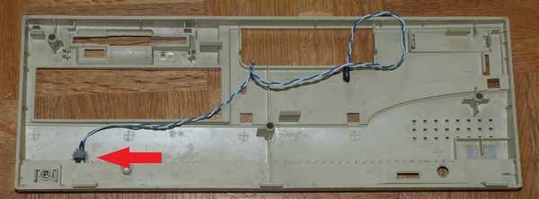 フロントパネルをリセットスイッチ付に変更
