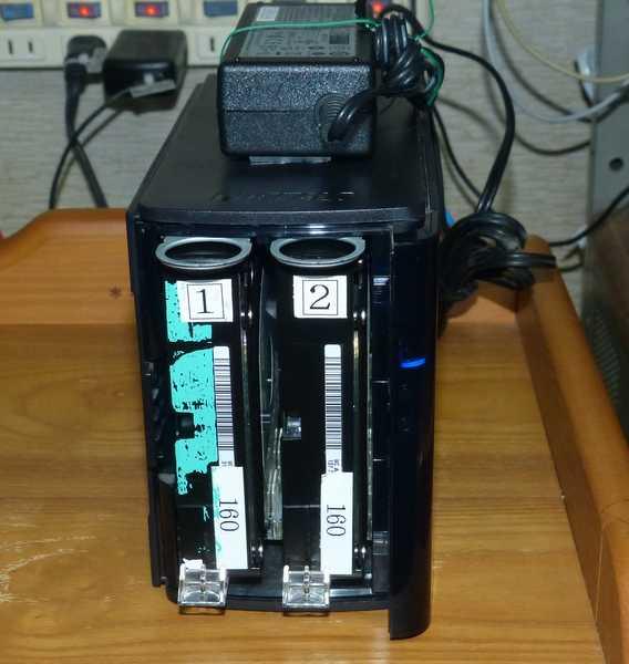 LS-WVL(LS-WV4.0TL/R1J)のHDD換装