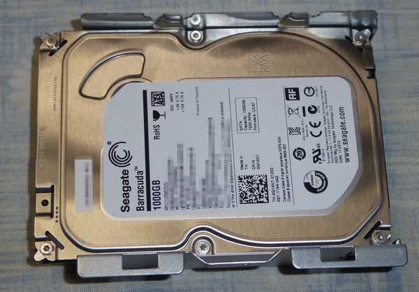 オリジナルの1TB-HDD