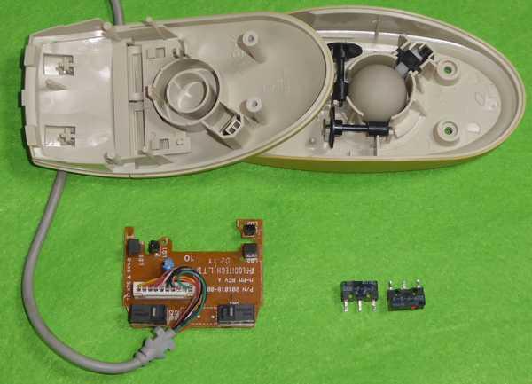 98マウス、マイクロスイッチ交換