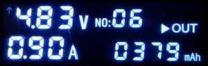 379mAh充電