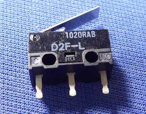 昔使ったマイクロスイッチ