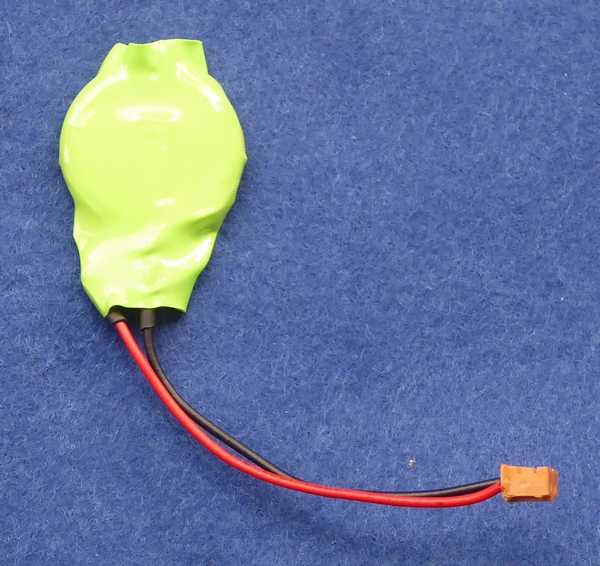 PC-98 時計用電池熱収縮チューブ
