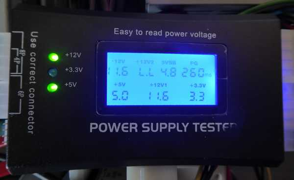 PC電圧テスター