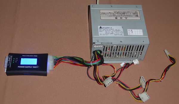1-スペアとして保管している98用の電源を確認