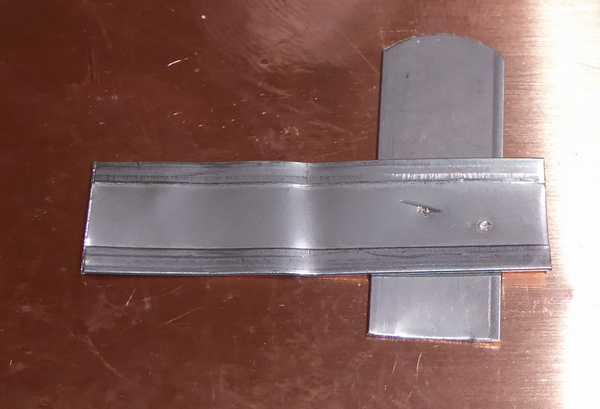 ステンレス薄板0.2mm、溶接は出来たけれど力不足