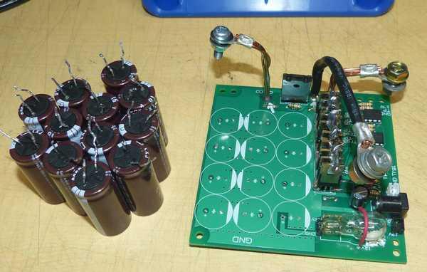 16V-35Vコンデンサへ交換